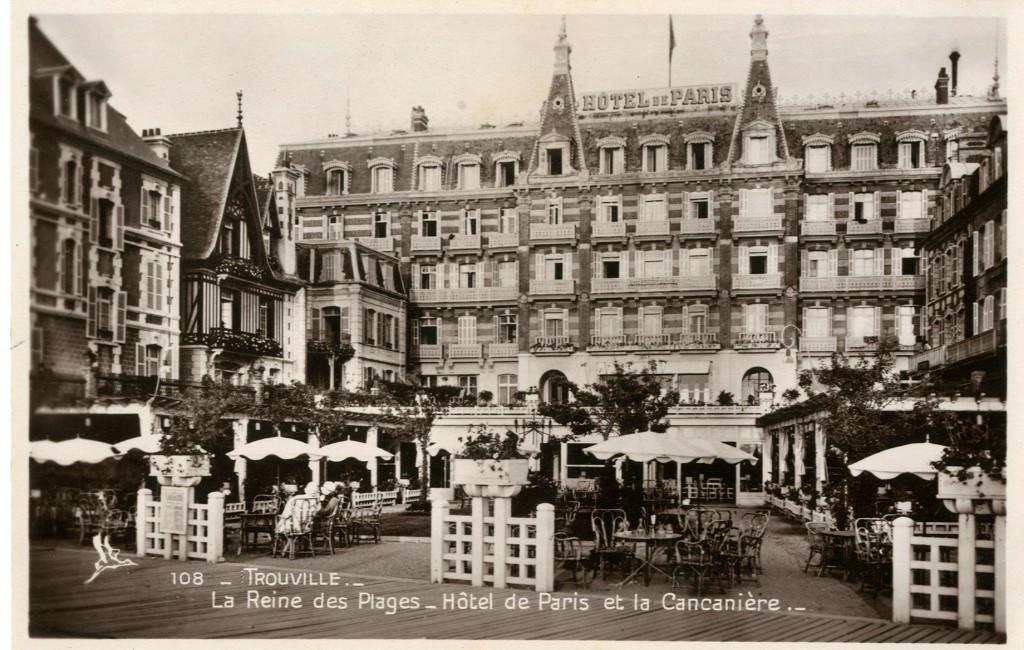 Trouville sur mer h tels trouville sur mer cartes for Hotel des bains paris 14