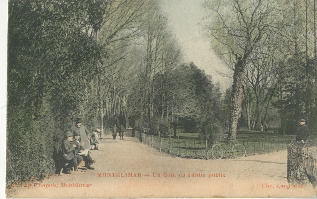 Mont limar 26 dr me cartes postales anciennes sur for Jardin public 78