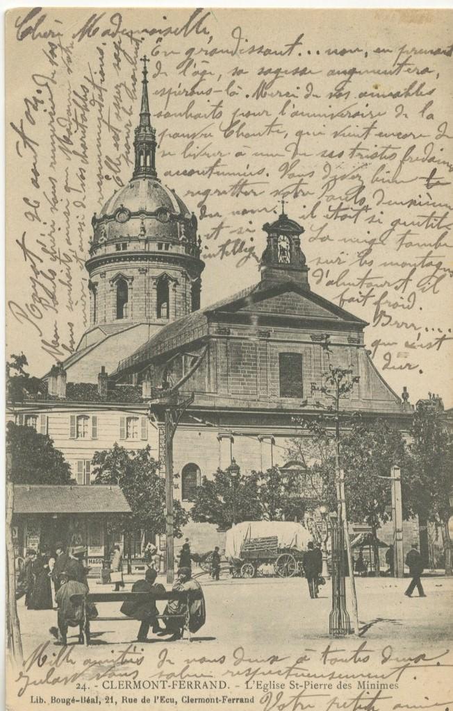 Clermont ferrand eglise saint pierre des minimes clermont ferrand cartes postales - Bassin pierre reconstituee clermont ferrand ...