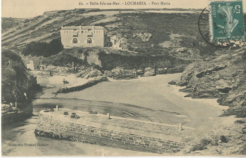 Belle ile en mer 56 morbihan cartes postales for Port donnant belle ile