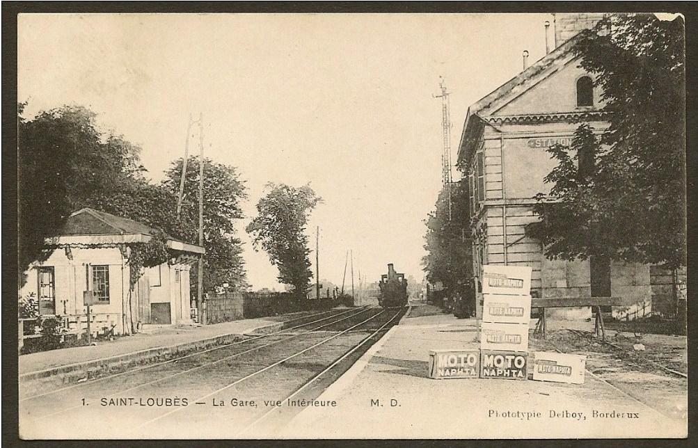saint loub s 33 gironde cartes postales anciennes