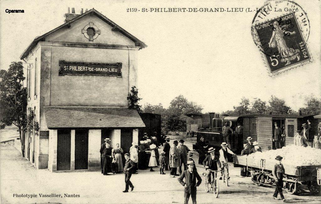 saint philbert de grand lieu 44 loire atlantique cartes postales anciennes sur cparama. Black Bedroom Furniture Sets. Home Design Ideas