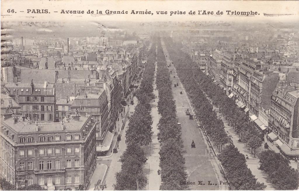 Paris avenue de la grande arm e paris xvie arr cartes postales anciennes sur cparama - 10 avenue de la grande armee ...