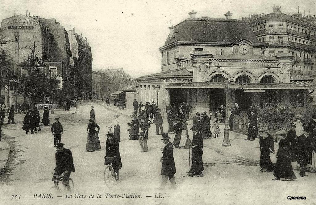 Paris gare de neuilly porte maillot paris xviie arr page 2 cartes postales anciennes - Galeries gourmandes porte maillot horaires ...