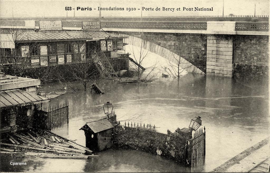 paris porte de bercy paris xiie arr cartes postales