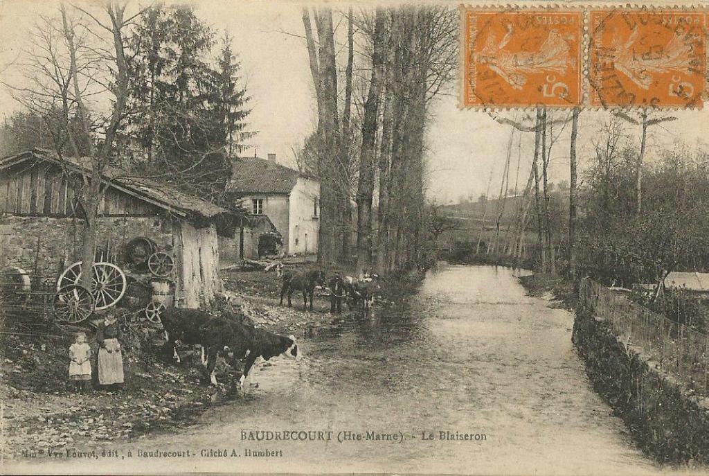 Baudrecourt 52 haute marne cartes postales anciennes for 52 haute marne