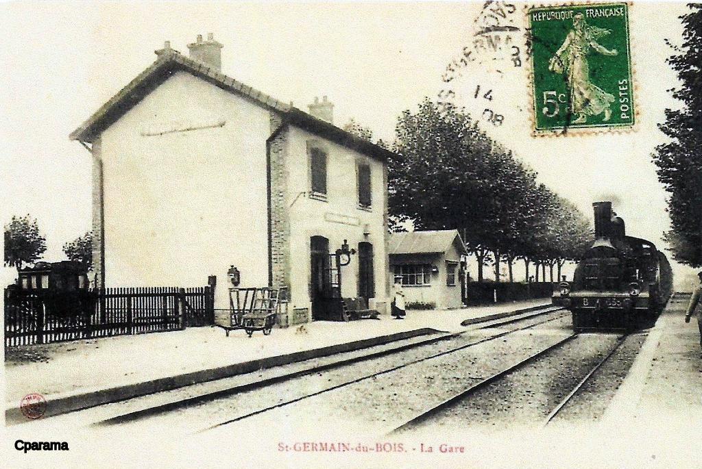 Saint Germain du Bois 71 Sa u00f4ne et Loire Cartes Postales Anciennes sur CPArama # Restaurant Saint Germain Du Bois