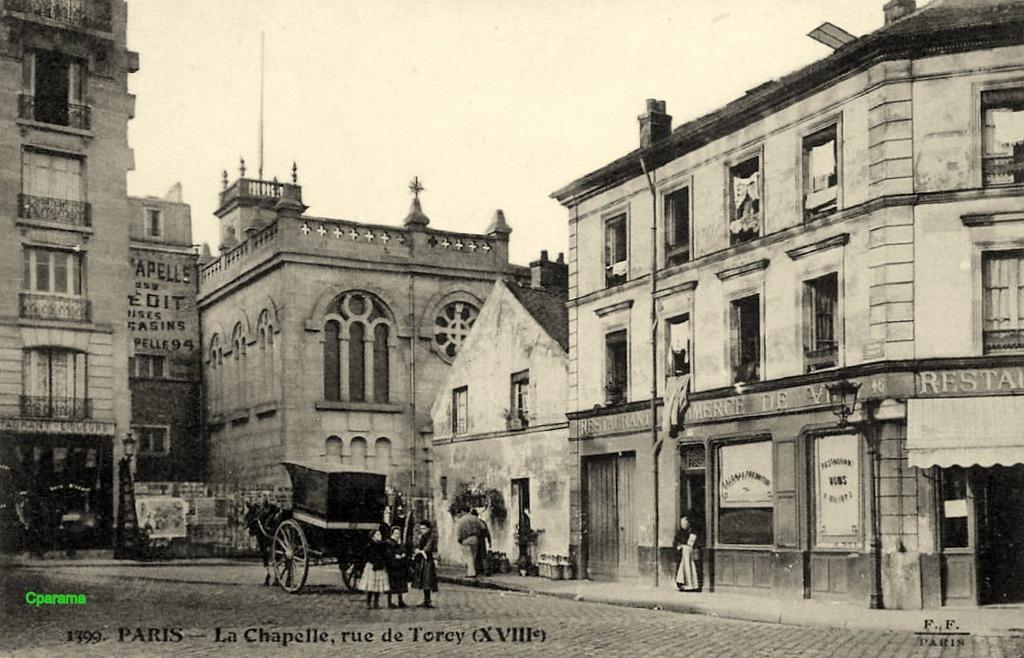 Paris - Rue de Torcy  Paris XVIIIe arr. | Cartes Postales Anciennes sur CPArama