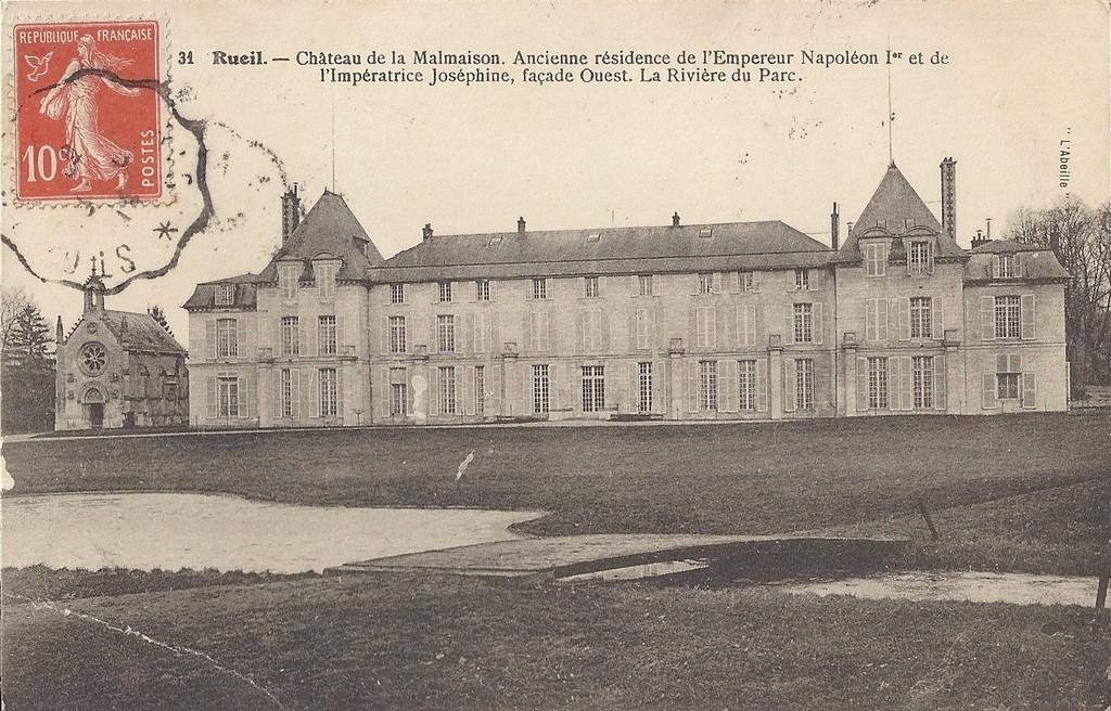Rueil malmaison 92 hauts de seine cartes postales anciennes sur cparama - Parc de la malmaison ...