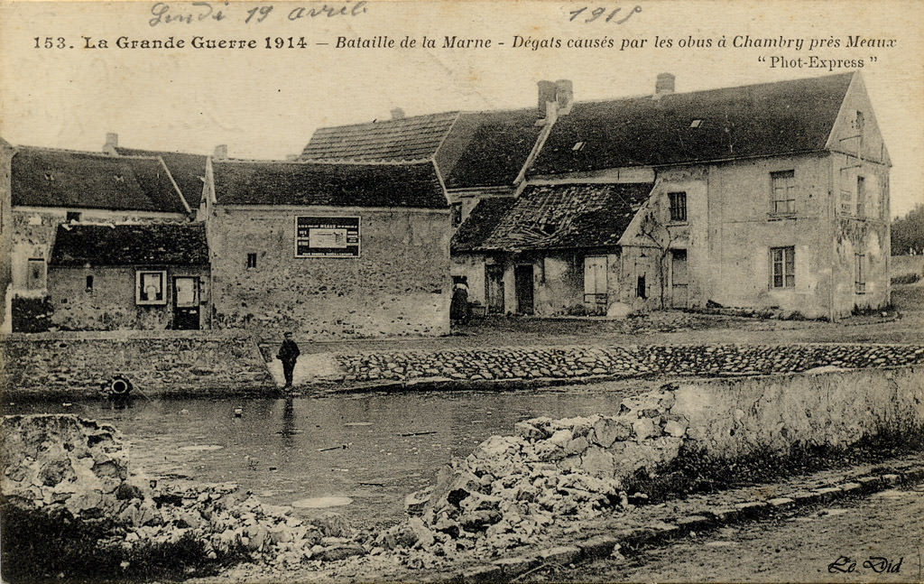 Chambry 77 seine et marne cartes postales anciennes for Code postal de seine et marne