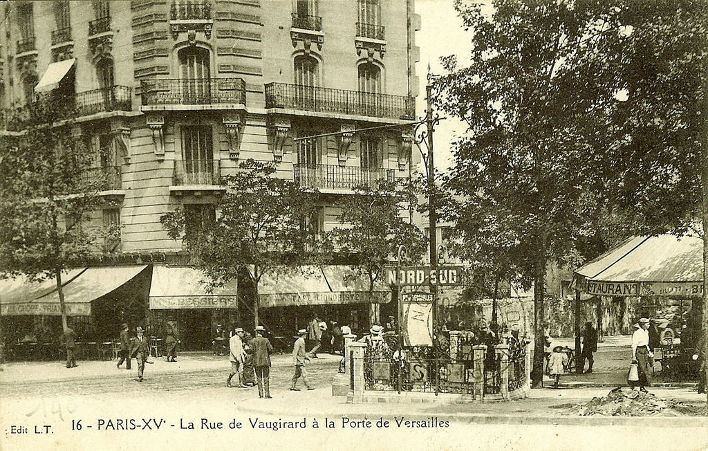 M tropolitain m tro paris 75 paris page 16 cartes postales anciennes sur cparama - Porte de versailles metro ...