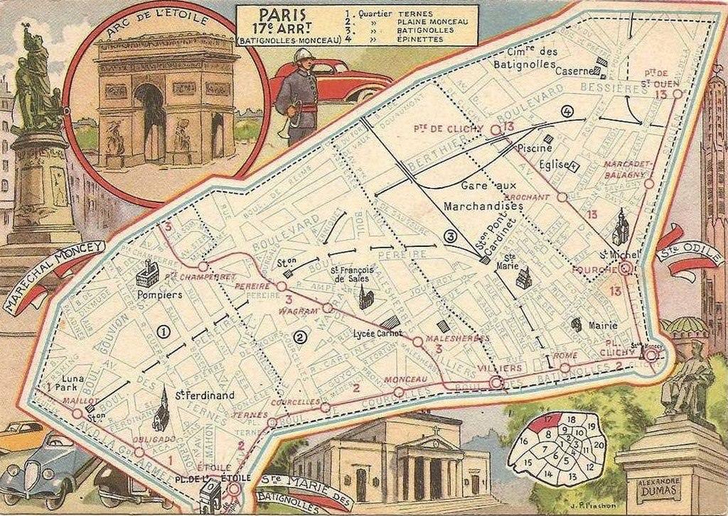 plan quartier paris 17