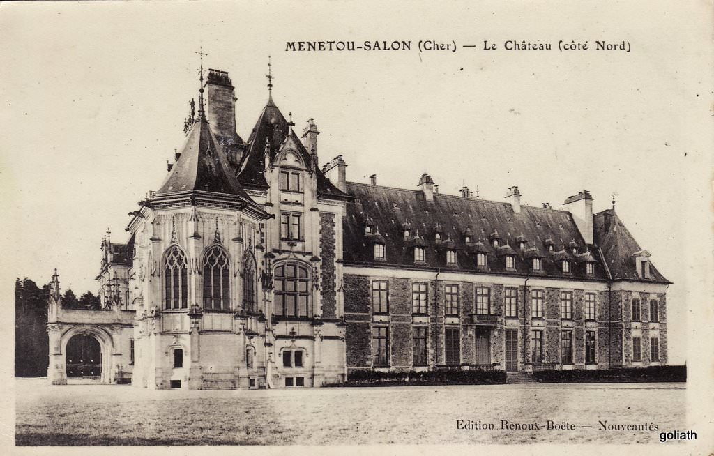 Menetou salon 18 cher cartes postales anciennes sur for Chateau de menetou salon